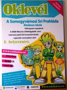 Zöldi Ákos - Díjkiosztó ünnepség