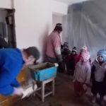 Cserépkályha-építés ovisoknak