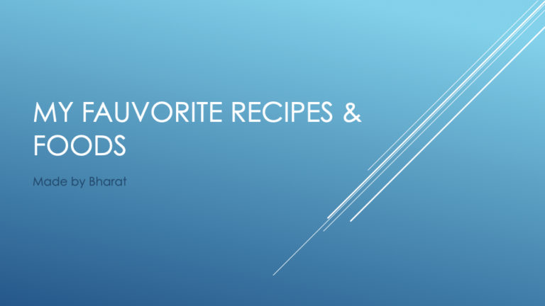 My favourite foods.001